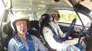 Max Vatanen scares his Dad