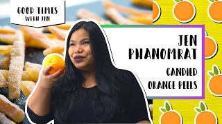 Candied Orange Peels | Good Times With Jen