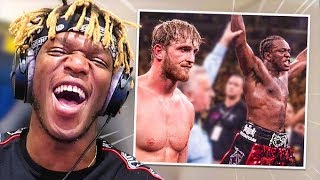 Reacting to KSI Vs Logan Paul Memes