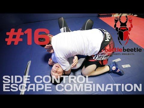 SIDE CONTROL ESCAPE COMBINATION - BATTLE BEETLE TUTORIAL # 16