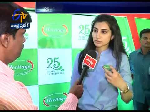 25 years of Heritage Foods | An Interview with Nara Brahmani | ETV Exclusive