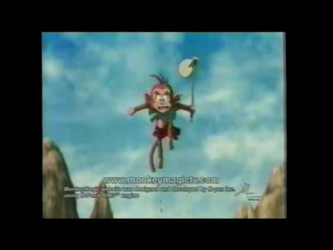Monkey Magic Animated Series Home Video Bandai TV Commercial