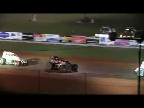 Sprint Car A Main at Bloomington Speedway 6-16-17