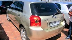 Toyota Runx Used Cars For Sale In Gauteng Car Parade