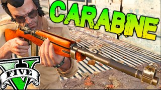 CARABINE M1 .30 Cal NUEVA ARMA !! ZOMBIES EN GTA 5 MODS PC Makiman
