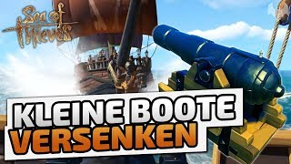 Kleine Boote versenken - ♠ Sea of Thieves Beta ♠ - Deutsch German - Dhalucard