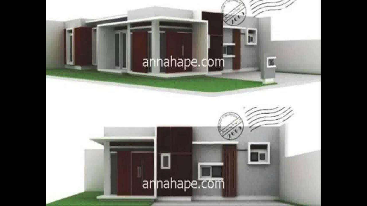Rumah Minimalis 2 Lantai Atap Limas Yg Sedang Trend Saat Ini YouTube