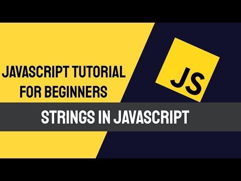 Javascript  Strings | Javascript tutorial thumbnail