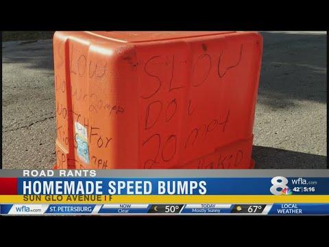 Katie Sommers - Port Richey Neighbors Attempt DIY Speed Bumps