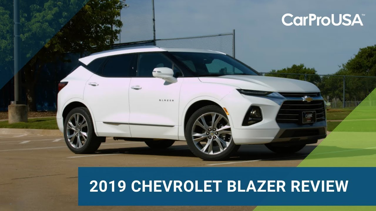 2019 Chevroler Blazer Premier Review - YouTube