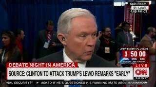 The Situation Room   Jeff Sessions defends Trump on lewd tape Free HD Video