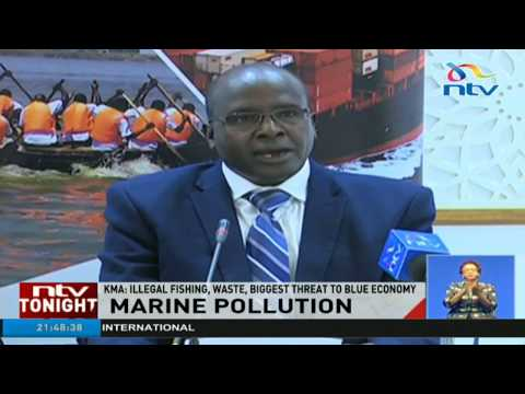 Illegal fishing, waste, biggest threat to blue economy - KMA
