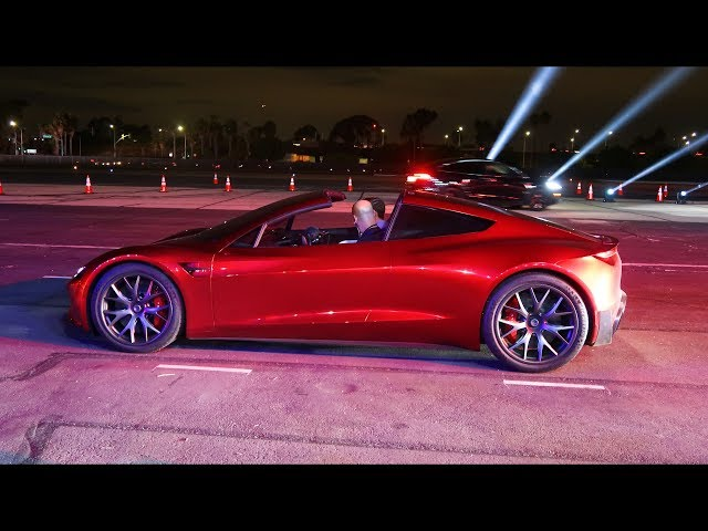 Roadster Test Ride