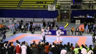 Carlo Molfetta ITA VS Lutalo Muhammad GBR 2011 DUTCH OPEN TKD FINAL -87KG