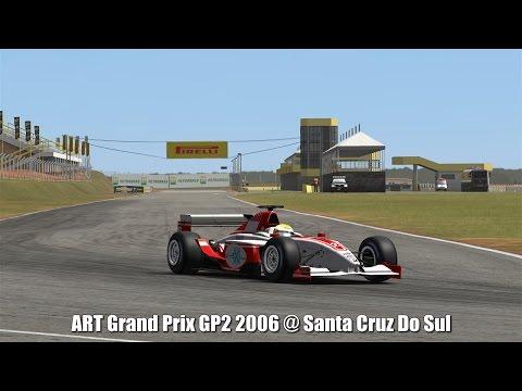 ART Grand Prix GP2 2006 @ Santa Cruz Do Sul - Automobilista 60FPS