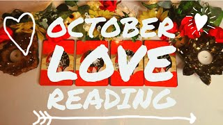 Your Love Life In OCTOBER Pick A Card Psychic Prediction