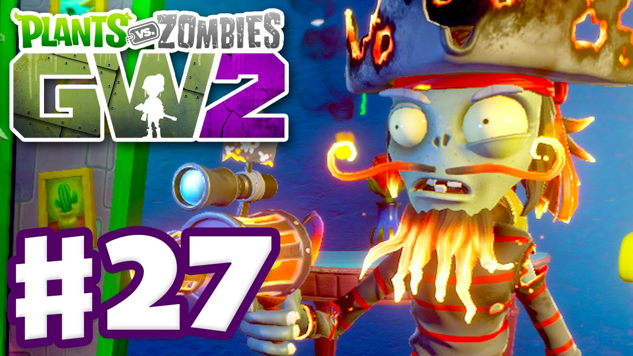 Plants Vs Zombies Garden Warfare 2 Gameplay Part 27 Captain Flameface Pc Youtube