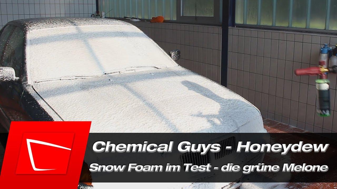 chemical guys honeydew snow foam im test k rcher fj6 und. Black Bedroom Furniture Sets. Home Design Ideas