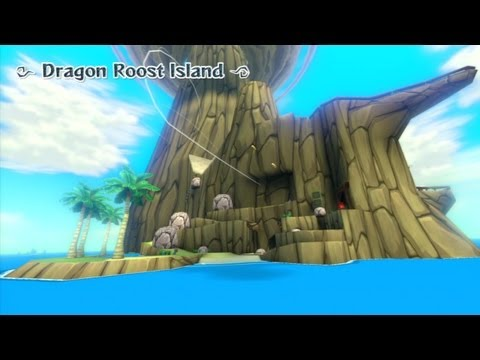 The Legend of Zelda: The Wind Waker HD - Dragon Roost Island (First Visit) Playthrough