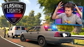 What's New? I'm Back to Check Out Flashing Lights Police Simulator Gameplay