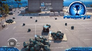 Just Cause 3 - 5 Gears in All Scrapyard Scamble Tether Challenges - Walkthrough & Locations