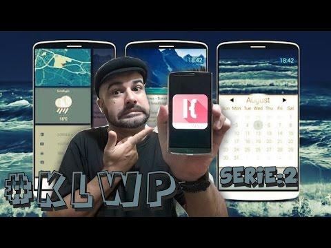 KLWP (Kustom live Wallpaper) serie: 2 - YouTube