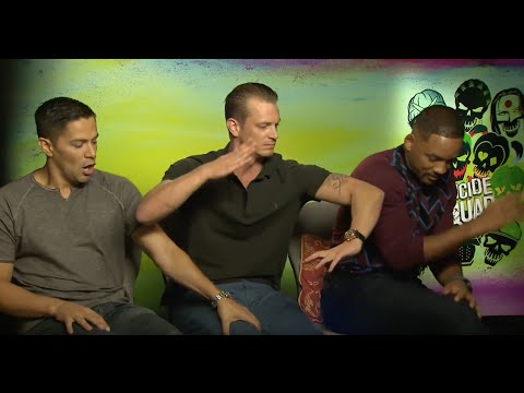 Horse bite!! Suicide Squad  Will Smith Jay Hernandez Joel Kinnaman