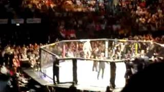 Bruce Buffer in Action @ Silva Vs. Franklin UFC 99 - Fan View