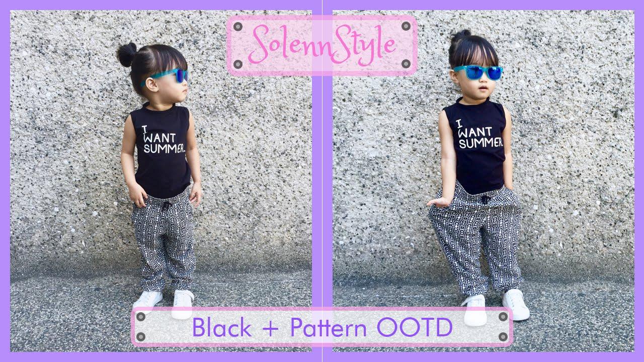 79e894dedc8a Solenn s Black + Pattern OOTD - H M Kids