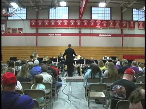 Flambeau Middle School Band, May 23rd, 2016
