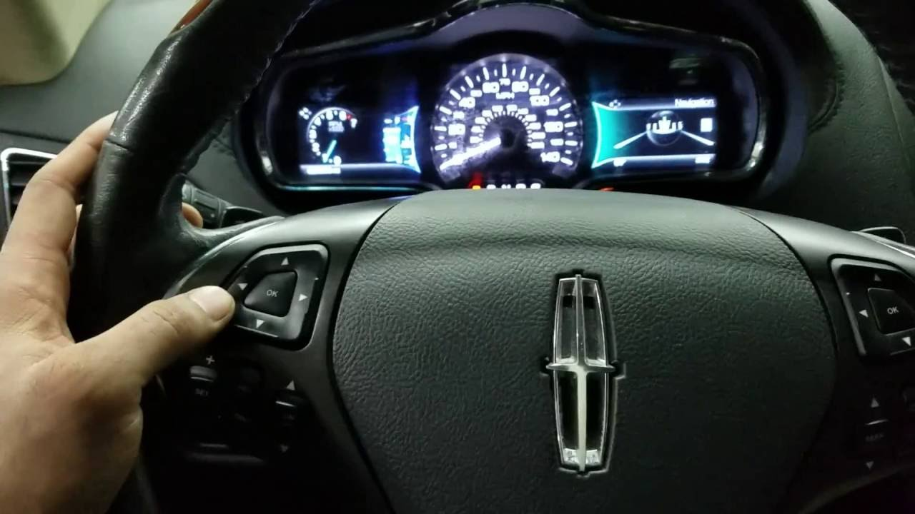 2016 Lincoln Mkt >> 2014 Lincoln MKT Reset Change engine Oil light - YouTube
