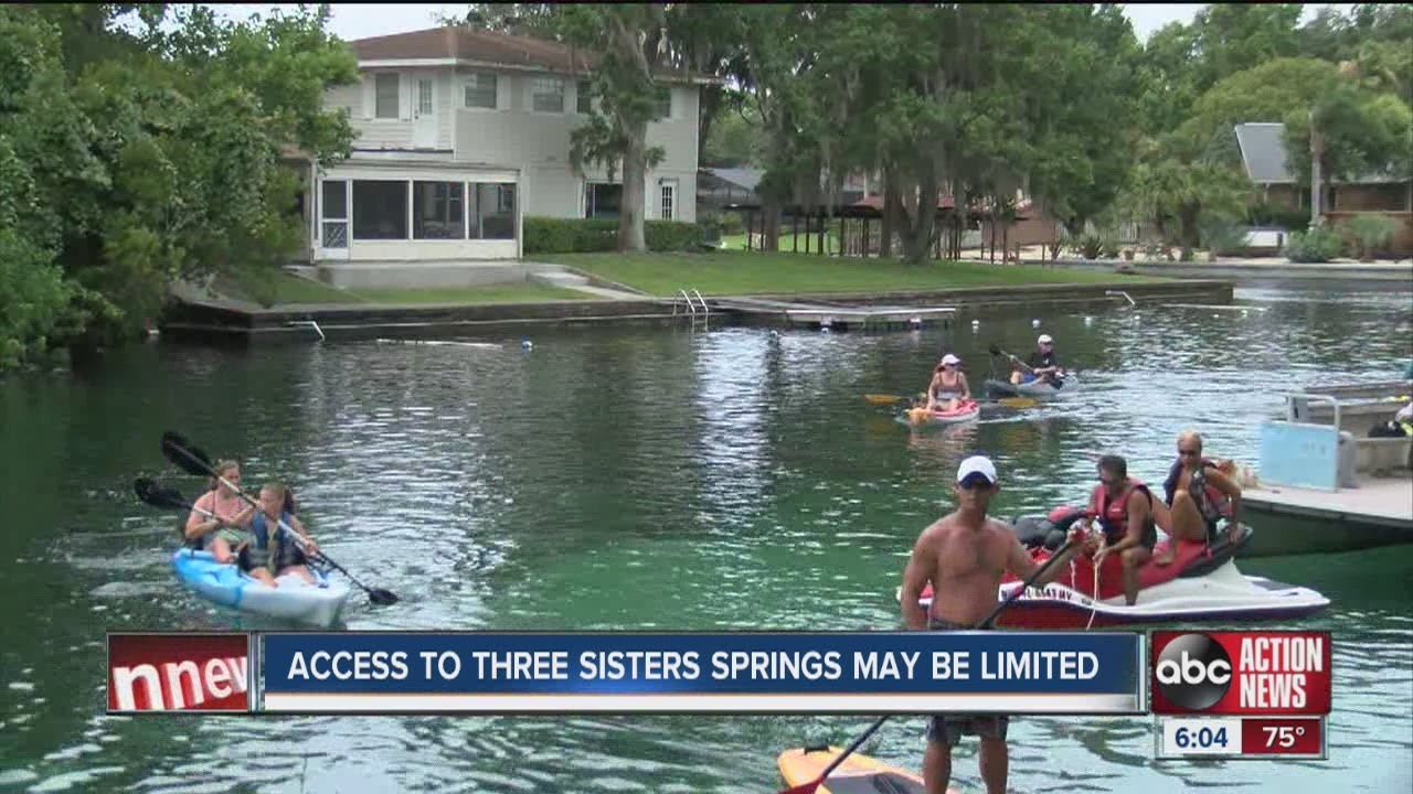 how to get to three sisters spring