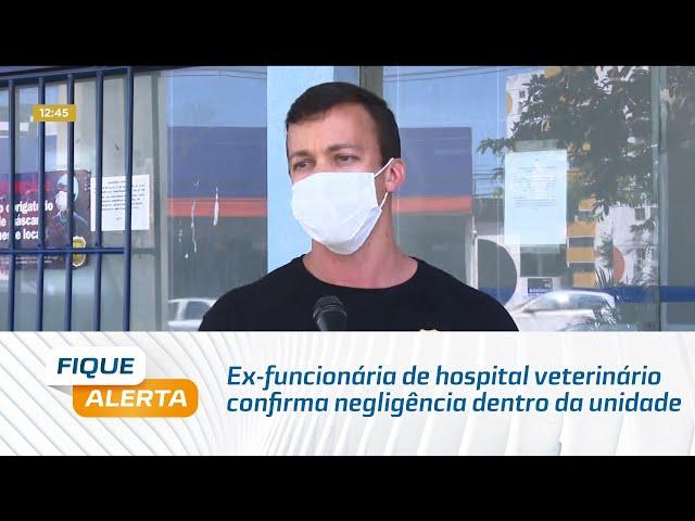 Após denúncias: Ex-funcionária de hospital veterinário confirma negligência dentro da unidade