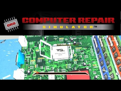 How To Fix A PC In Computer Repair Simulator - Computer Repair Simulator Gameplay