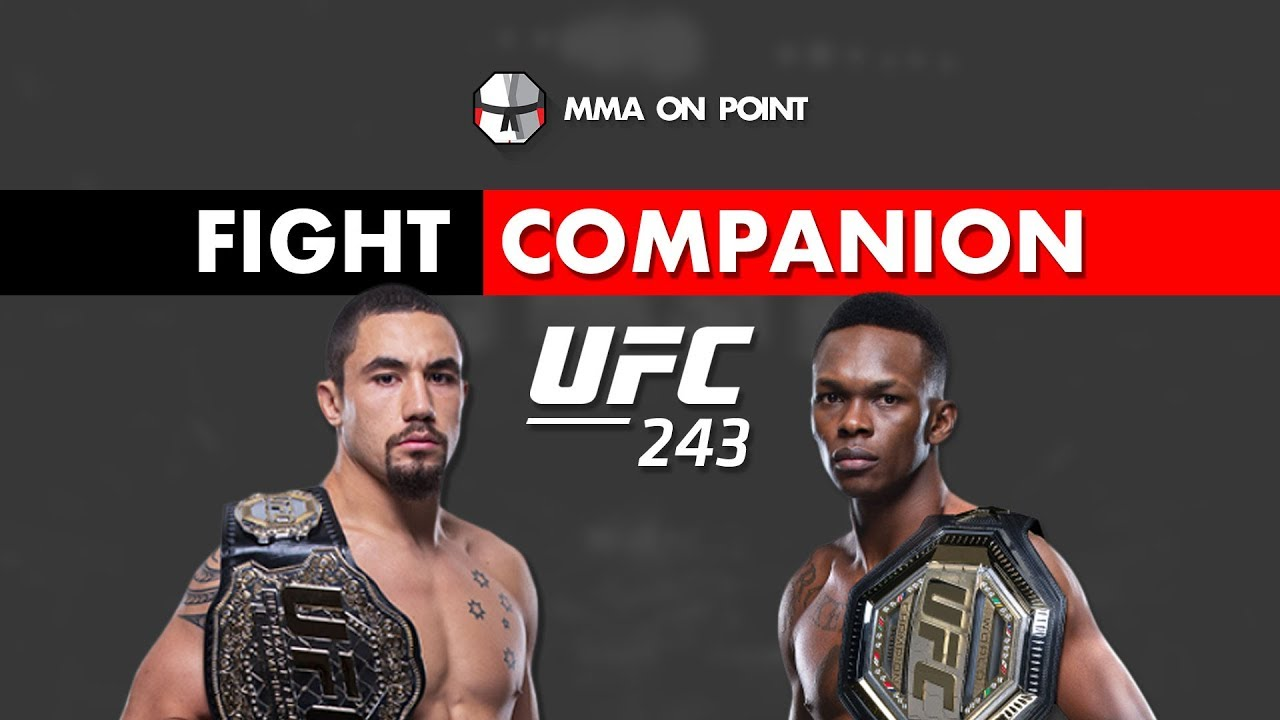 How To Watch UFC 243