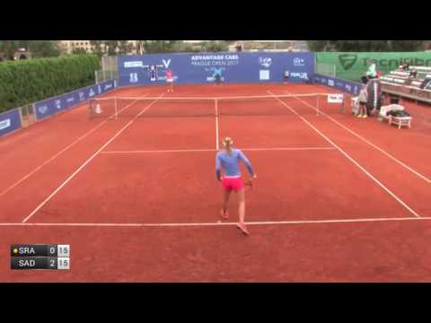Sramkova Rebecca v Sadikovic Amra - 2017 ITF Prague