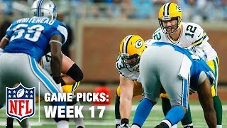 Game Picks in 60 Seconds (Week 17) ⏱🏈 | NFL NOW
