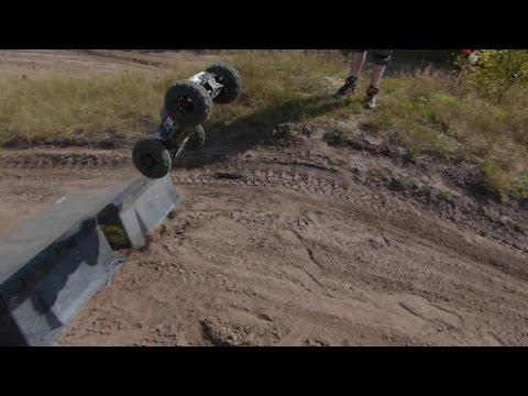Arrma Nero 6S BLX Proline Trencher: big jumps, massive destruction :(