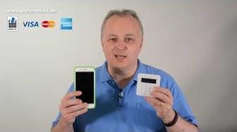 Kreditkartenzahlung: Kreditparten in einer Verkaufsparty verwenden (auch EC-Karten)