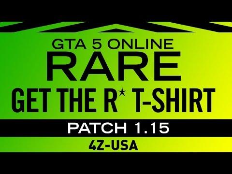 ► [GTA 5 ONLINE] ◄ Get the RARE Rockstar T-Shirt EASY