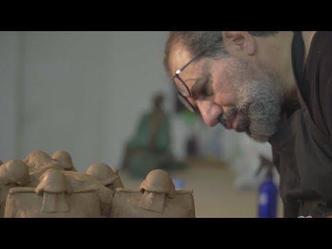 فنان عراقي يحكي قصة وطن بمجسمات برونزية، فما سر بدانتها؟