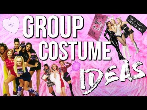 10 Group Halloween Costume Ideas 2016! Last Minute Costume Ideas!