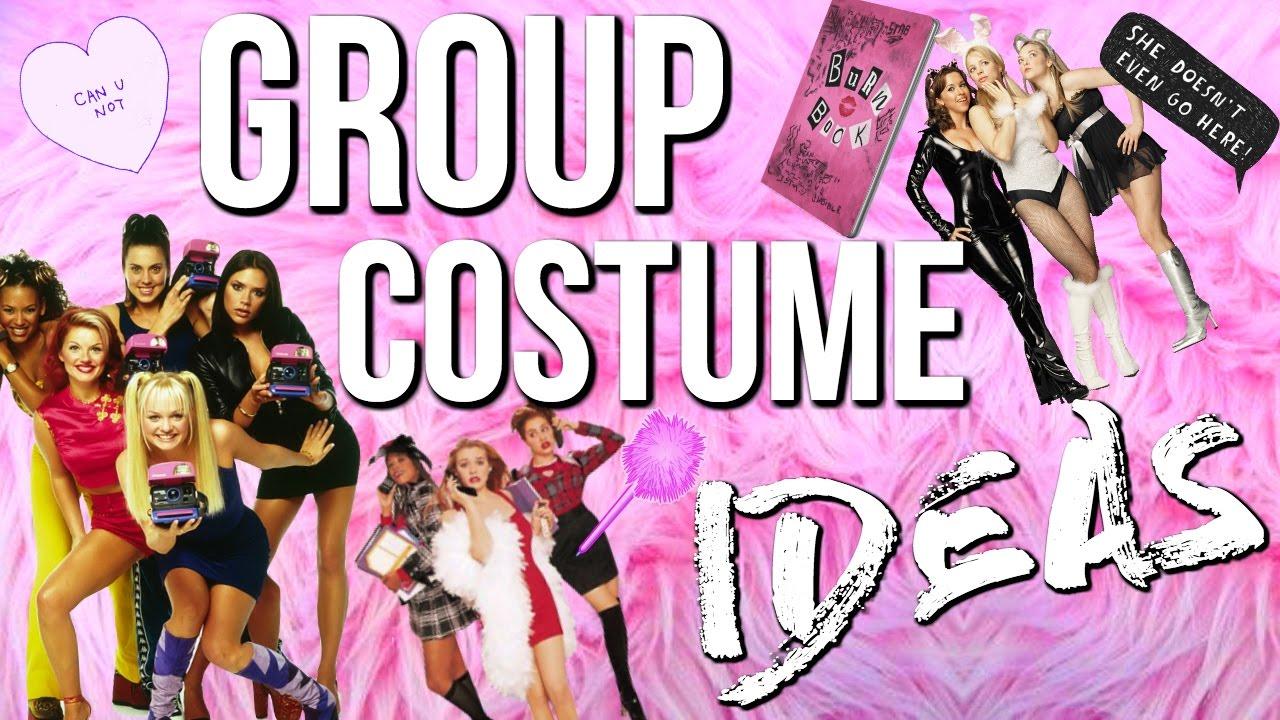 10 Group Halloween Costume Ideas 2016! Last Minute Costume Ideas! - YouTube  sc 1 st  YouTube & 10 Group Halloween Costume Ideas 2016! Last Minute Costume Ideas ...