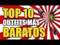 || LOS 10 OUTFIT MÁS BARATOS DEL JUEGO || - OUTFITS & ADDONS | TIBIA
