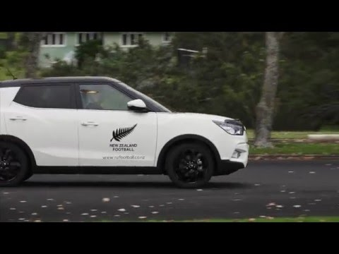 Ssangyong renews partnership with NZ Football