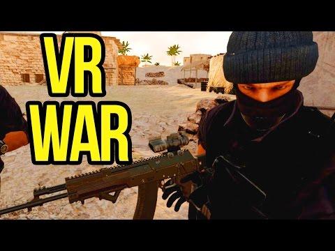 VR Realistic War - ONWARD