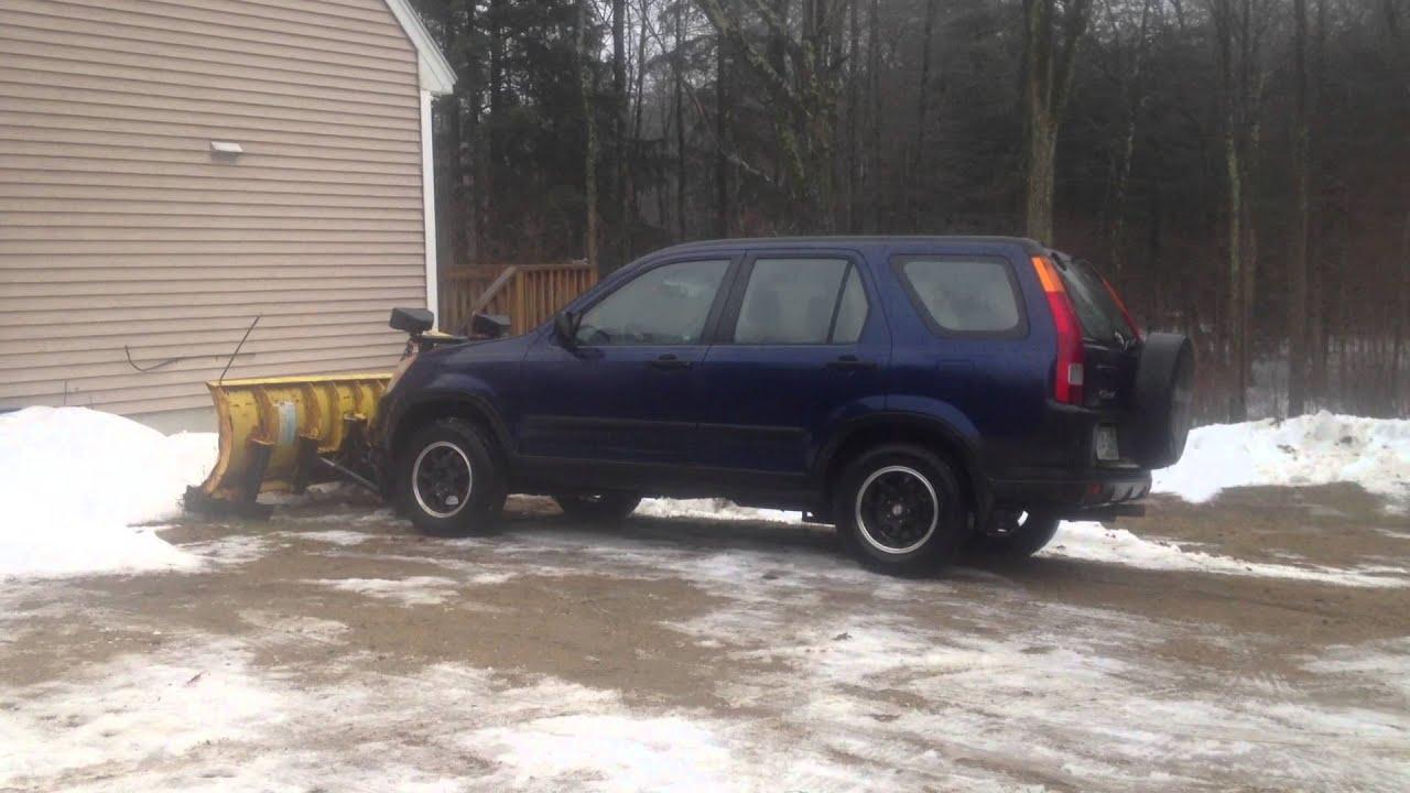 Redneck Honda CRV Plow Truck
