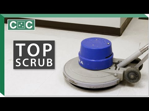 How to Top Scrub a Floor | Clean Care