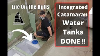 Download Mp3 Finishing Port Side Water Tank Hatches - Life On The Hulls - Build A Catamaran
