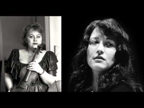 Schumann Fantasiestücke op.73 Dora Schwarzberg, Martha Argerich
